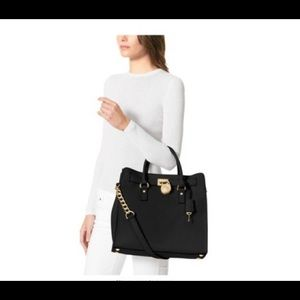 Michael Kors Bags - Michael Kors Hamilton Large Shoulder Bag